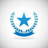 Award Symbol  Troph Icon Design Template Vector Illustration Stock Images