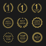 Award symbols Stock Images