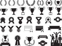Award symbols Royalty Free Stock Photography
