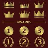 Award symbols Stock Images