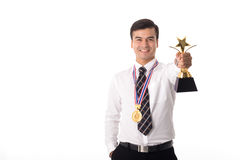 Award Trophy royalty free stock image