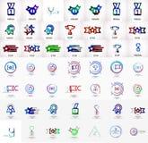 Award vector mega icon set Royalty Free Stock Photography