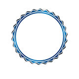 Award vintage circular frame with clear copy space made as art m Stock Images