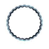 Award vintage circular frame with clear copy space made as art m Stock Image