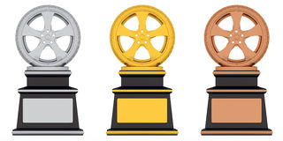 Award wheel Stock Image