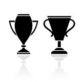 Award winner cup icon Royalty Free Stock Photos