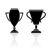 Award winner cup icon Royalty Free Stock Photos