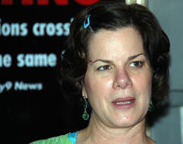 Award winning actress Marcia Gay Harden Royalty Free Stock Photography