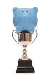 Award winning savings account piggy bank Royalty Free Stock Photography