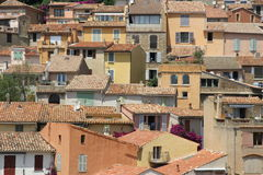 Award winning village Bormes-les-Mimosas in France Stock Photo
