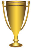 Awarding cup Royalty Free Stock Photo