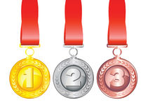 Awards Royalty Free Stock Photo