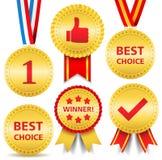 Awards royalty free illustration