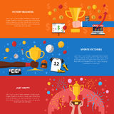 Awards Banners Set Royalty Free Stock Images