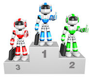 Awards Ceremony of Business Robot Royalty Free Stock Photos