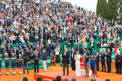 Awards ceremony in the Monte-Carlo Rolex Masters 2016 Stock Photo