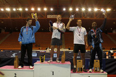 Awards at the french championships Royalty Free Stock Photography