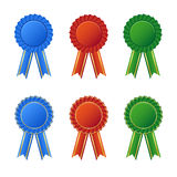 Awards icon set Stock Image
