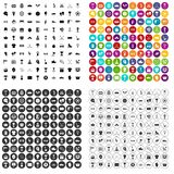 100 awards icons set variant. 100 awards icons set in 4 variant for any web design isolated on white vector illustration