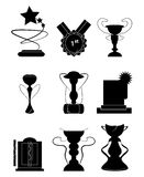 Awards And Prizes. Set of of Prizes and awards icons Stock Images