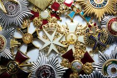 The awards of the Russian Empire Royalty Free Stock Images