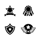 Awards. Simple Related Vector Icons royalty free illustration