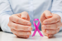 Awareness of Breast Cancer among Women Royalty Free Stock Photos