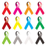 Awareness ribbon Stock Image