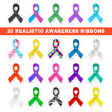 Awareness ribbon Stock Photography