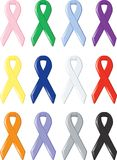 Awareness Ribbons Stock Images
