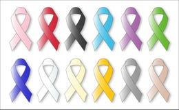 Awareness Ribbons Stock Image