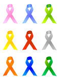 Awareness Ribbons / EPS Stock Photography