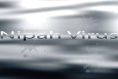 Awarness del virus di Nipah fotografia stock libera da diritti
