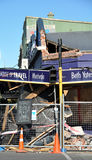 awaryjny Christchurch trzęsienie ziemi nowy Zealand Fotografia Stock