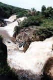 Awash waterfalls. The waterfalls of the river awash in ethiopia stock image