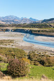 Awatere valley in Marlborough, New Zealand Stock Images