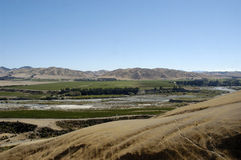 Awatere Valley wine growing region of New Zealand. The Awatere Valley in the Marlborough region of New Zealand, This area has become an extremely  popular area Royalty Free Stock Photos