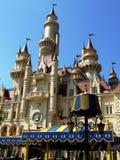 away för slott universal långt Royaltyfri Bild