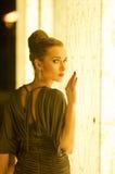 away gå för modell Royaltyfri Fotografi