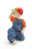 away se för pojke Arkivfoto