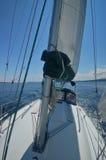 away segling arkivbild