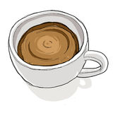 away take för kaffekopp Arkivfoton