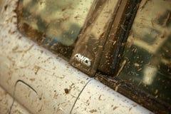 AWD - Весь ярлык привода колеса Стоковая Фотография RF