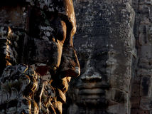 In awe of Temple ruins in Cambodia Stock Photography