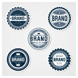 Awesome Badges Template Stock Image
