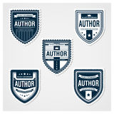 Awesome Badges Template Royalty Free Stock Images