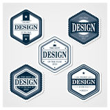Awesome Badges Template Stock Photos