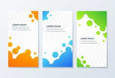 Awesome Banner Template design ready to use vector illustration