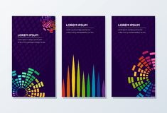 Awesome Banner Template ready to use vector illustration