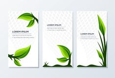 Awesome Banner Template ready to use royalty free illustration